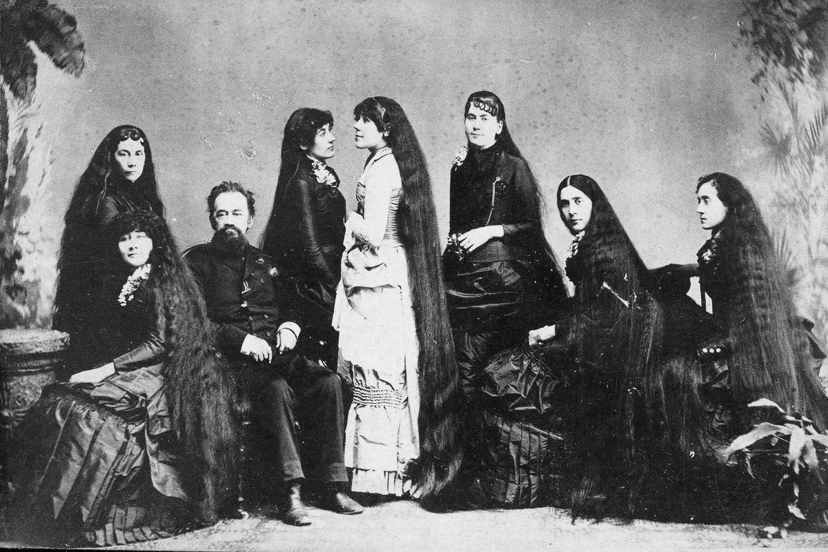 As mulheres vitorianas que nunca cortavam o cabelo 12