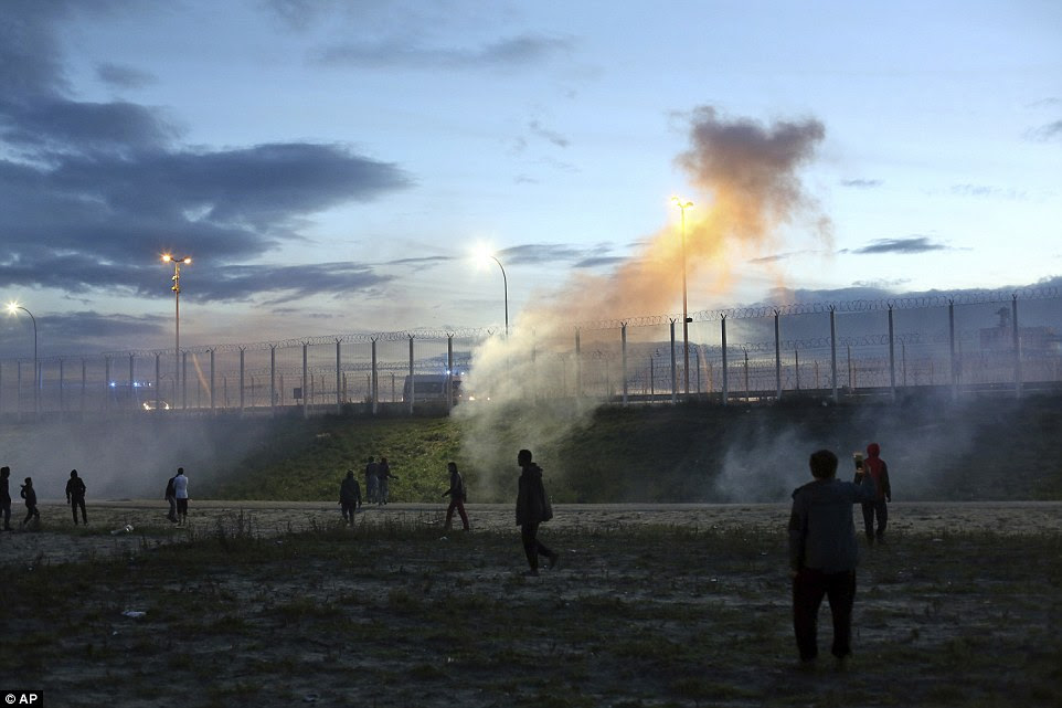 French authorities say the closure of the slum-like camp in Calais will start on Monday and will last approximately a week