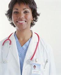 Photo: Female doctor smiling