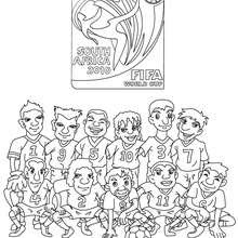 Coloriages Coloriage Equipe Foot Italie Frhellokidscom