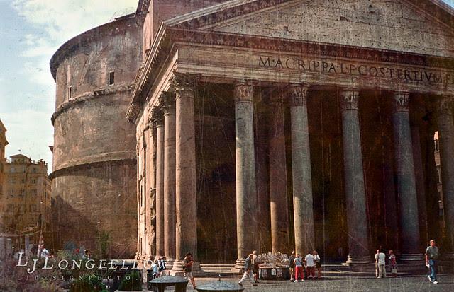 The Pantheon - exterior 15/365