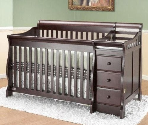 Cribs With Attached Changing Table Crib N Bed Michelle