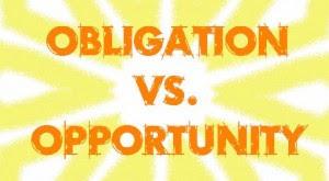 obligation opportunity
