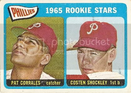 #107 Phillies Rookie Stars: Pat Corrales and Costen Shockley
