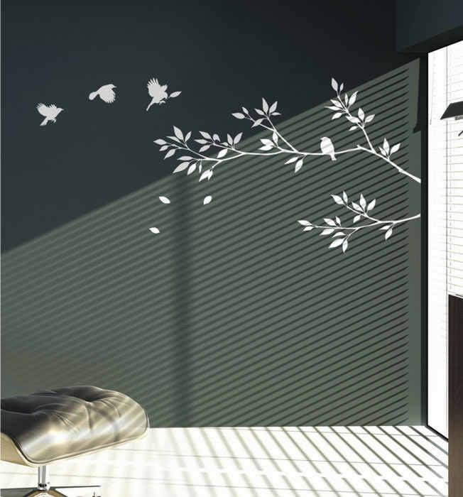Wholesale PVC Wall stickers Home decor Murals Decals Wall decor ...