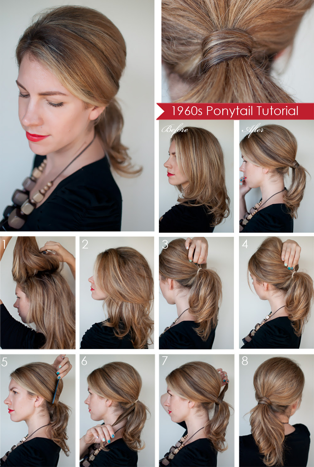 Hairstyle Tutorial Easy Hairstyles For Medium Hair Step By Step
