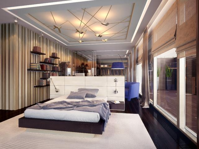 PENTHOUSE st. Gilyarovskogo - modern - bedroom - other metro - by ...