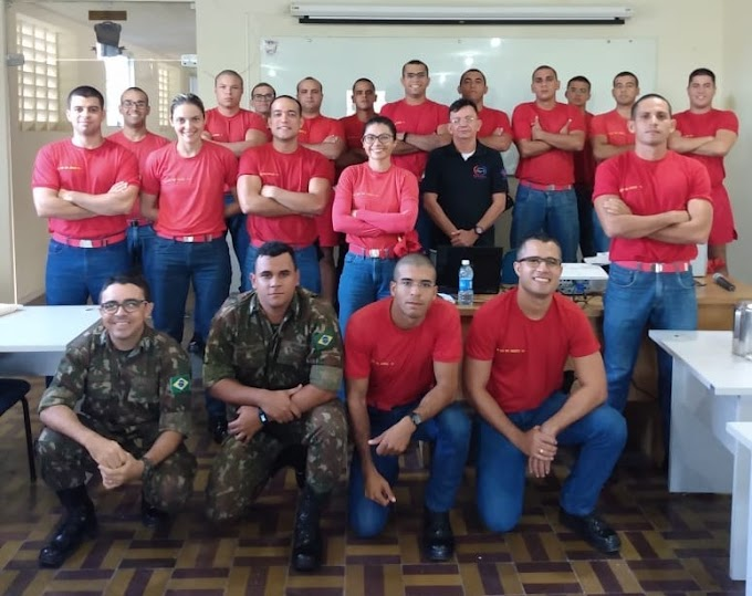 FOTOS: Detran forma bombeiros militares no curso de Condutor de Veículo de Emergência