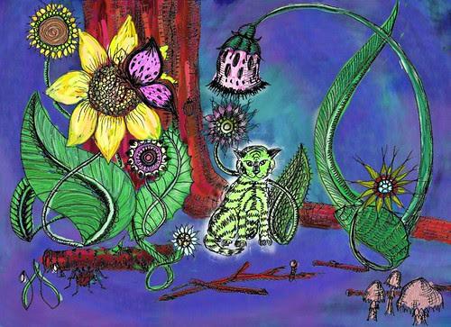 Jungle - colour