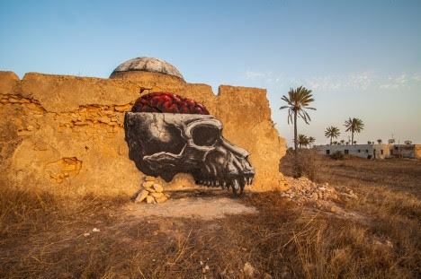 roa animal skull dome