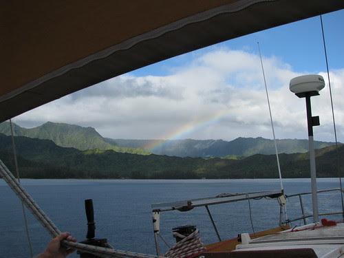 Hanalei rainbow