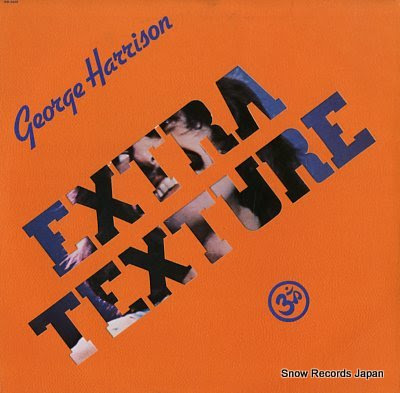 HARRISON, GEORGE extra texture (read all about it)