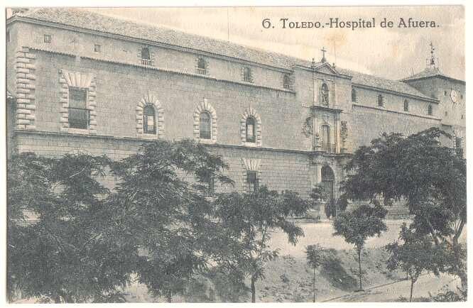 Hospital Tavera a comienzos del siglo XX