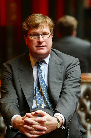 Hedge fund manager Crispin Odey (pictured) has warned that major economies are entering into a recession that will be remembered for generations to come