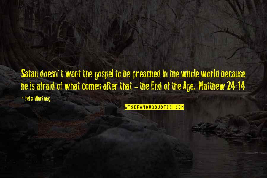 The End Of The World Bible Quotes Top 6 Famous Quotes About The End