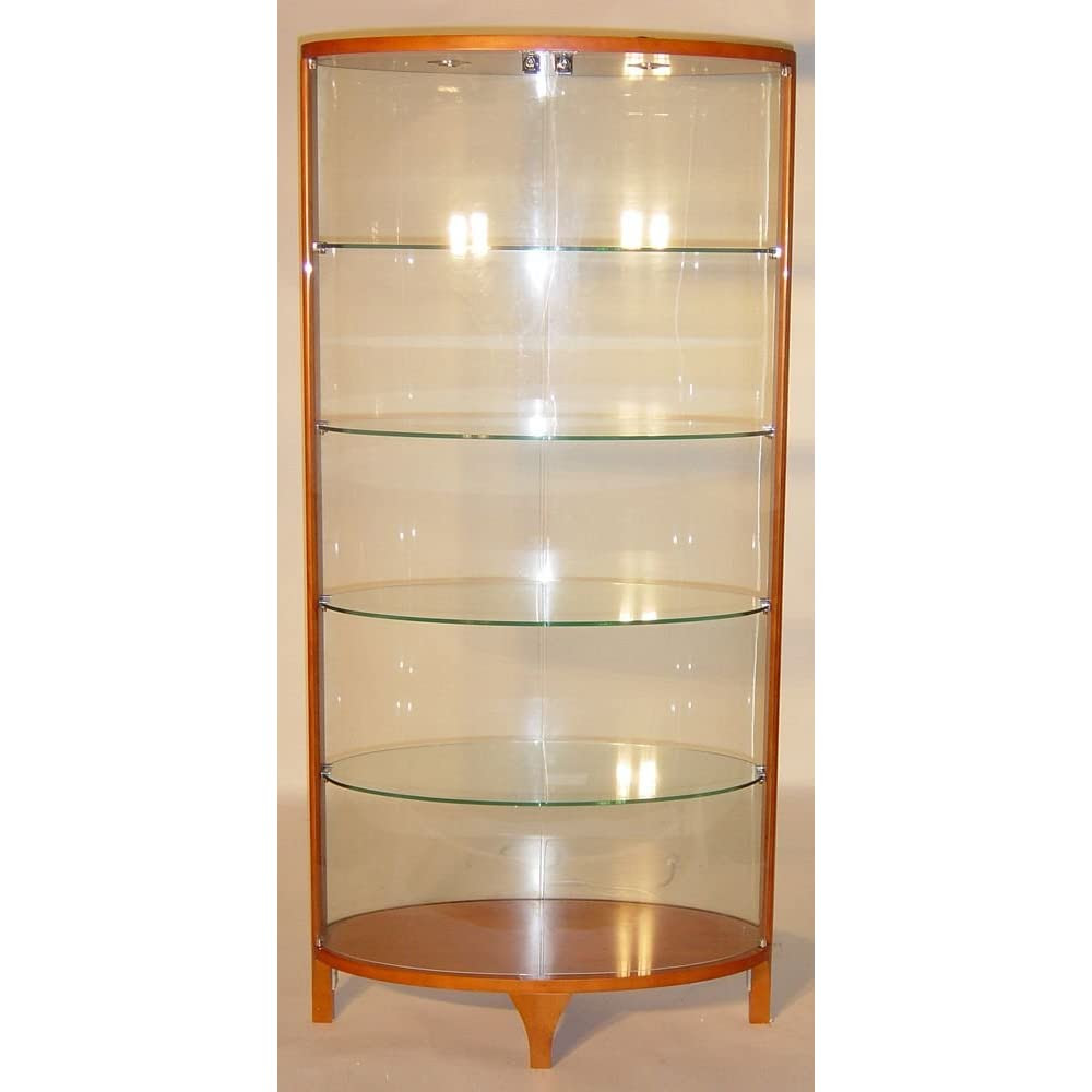 10 Awesome Contemporary Curio Cabinet Home Enlivening Stuffs