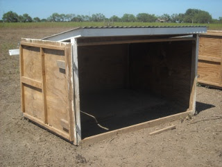 Goat Shed Redesign, Main Door Open