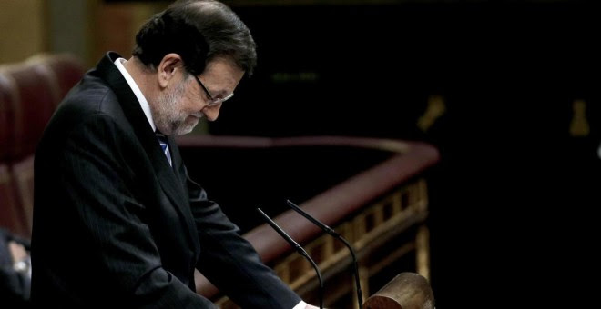 Rajoy No Investidura EFE