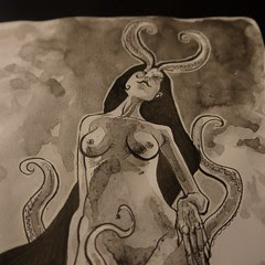 Daily sketch. Warning, it's got bewbs for those scared of mammaries.