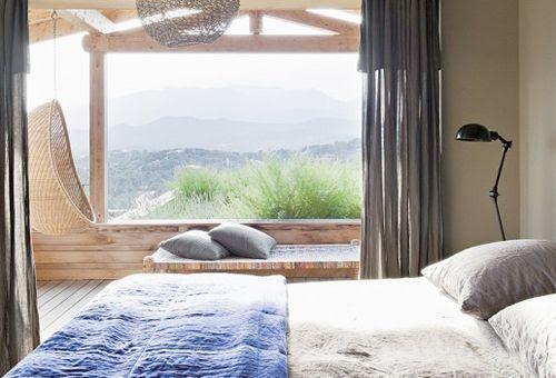 Vistas dormitorio principal de La casa de la colina en Córcega