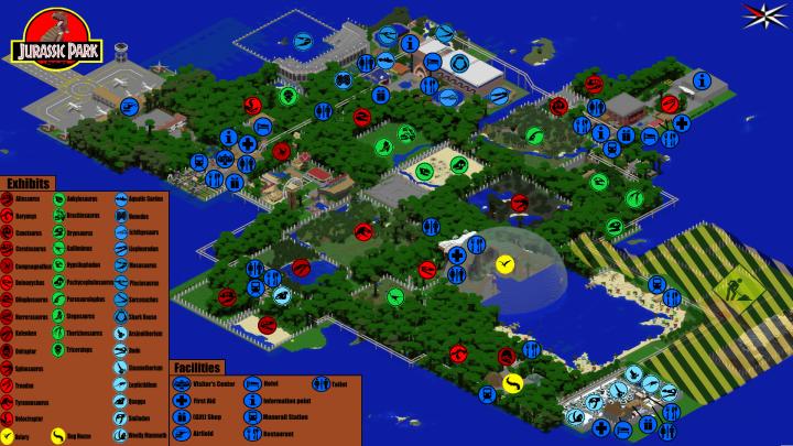 minecraft xbox 360 jurassic world map download