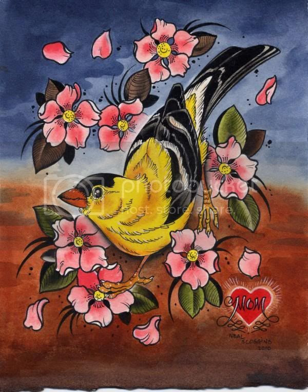 neal scoggins yellow bird