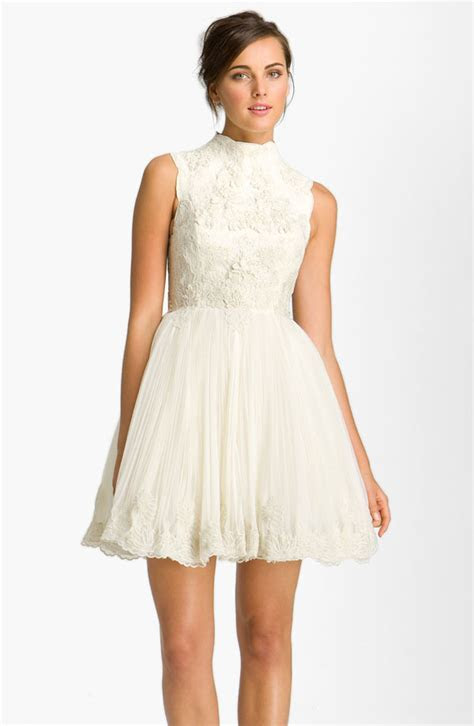 Little White Wedding Dress   Bitsy Bride