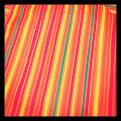 bought fabric for the nursery curtains last night. worker said : you must be having a girl!  actually...