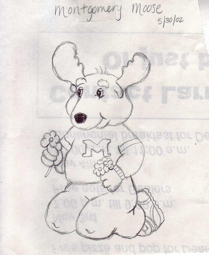 Drawing Moose
