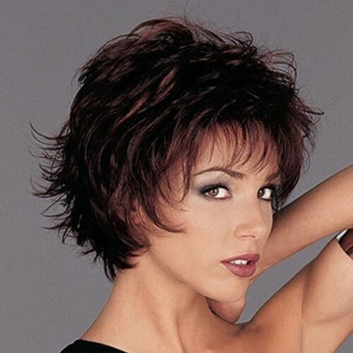 Shoulder Length Low Maintenance Short Shaggy Hairstyles ...
