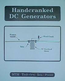 Hand Cranked DC Generator Plans