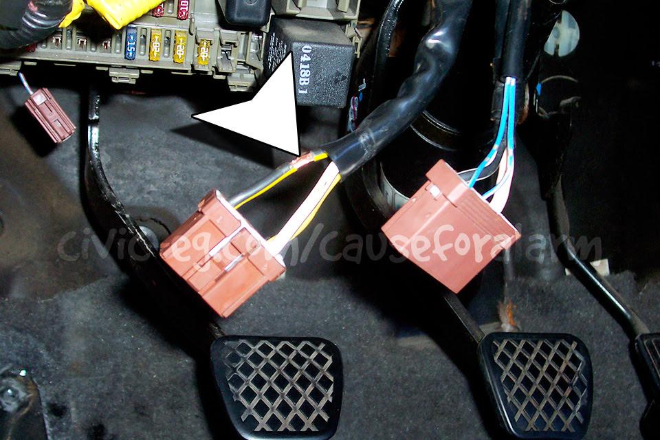 Best Way To Install A Car Alarm 6th Generation Honda Civic Ek