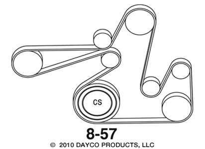 2010 Dodge Avenger Belt Diagram - Wiring Diagram