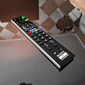 TV uzaktan kumanda 3D Modelleri