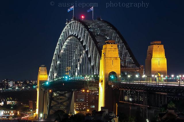 Sydney Harbour Bridge - Observatory Park