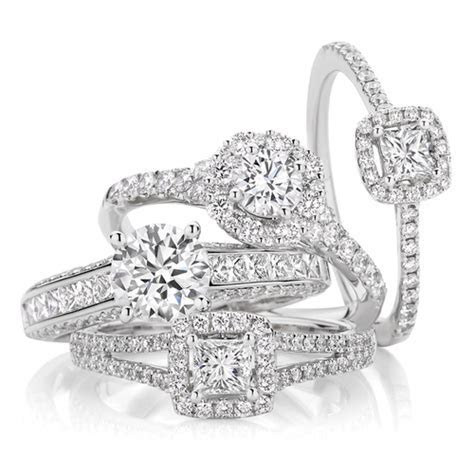 Wedding rings Otago Dunedin Mosgiel   Princess cut diamond
