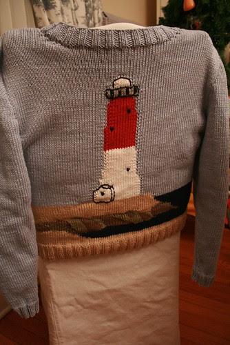 LBI Barnegat Lighthouse Sweater