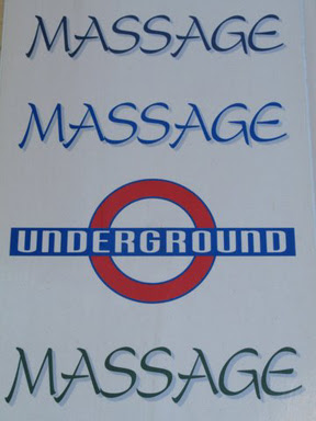 Massage Underground taken by MJ