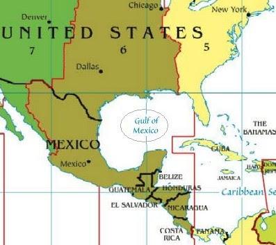 Resultado de imagem para GOLFO DO MÉXICO
