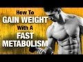 How To Gain Weight For Females With High Metabolism