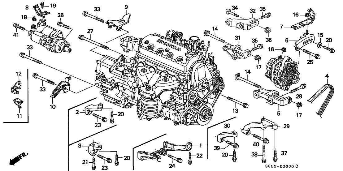 1999 Honda Civic Parts Diagram