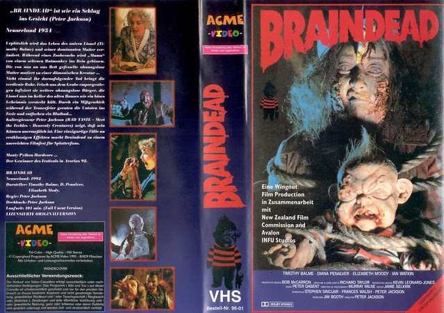Brain Dead (VHS Box Art)