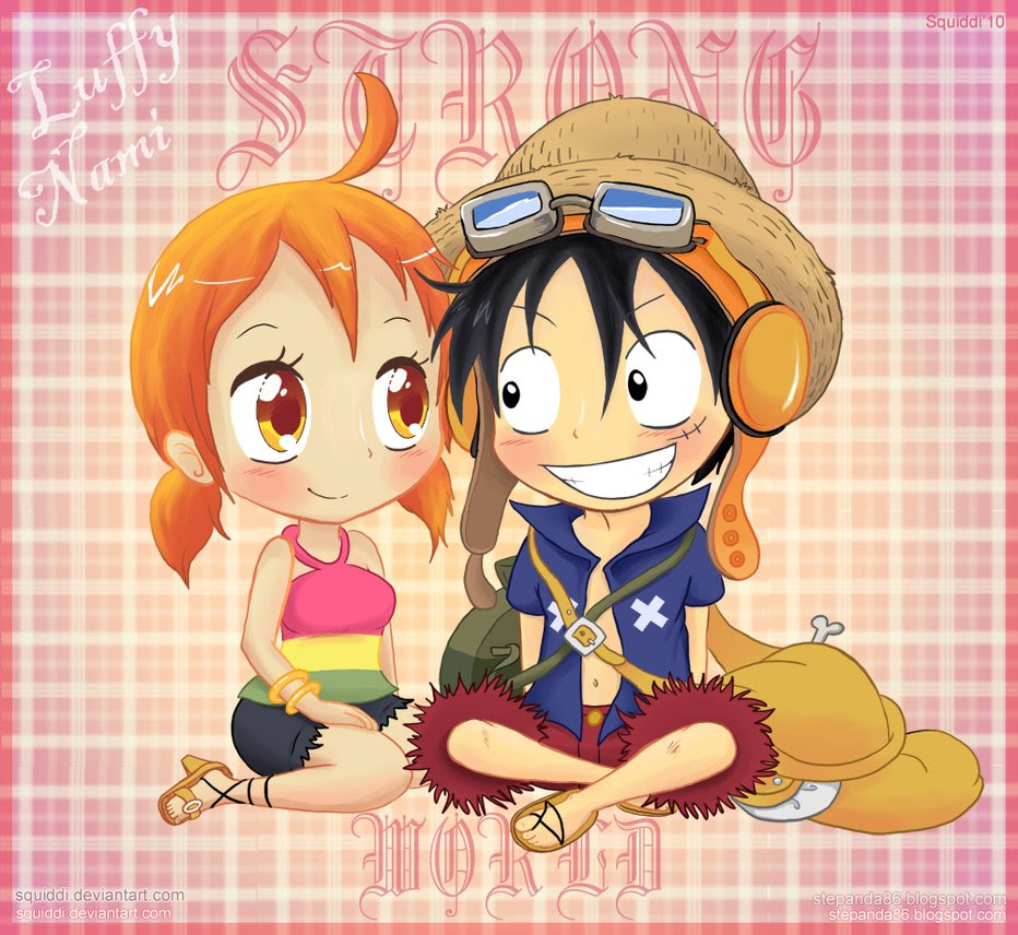 Strong World Luffy And Nami One Piece Strong World Photo