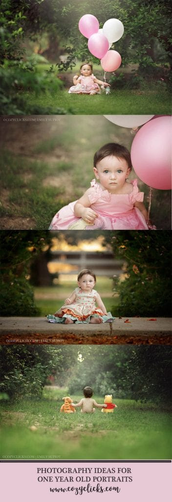 One Year Old Childrens Portraits In Phoneix