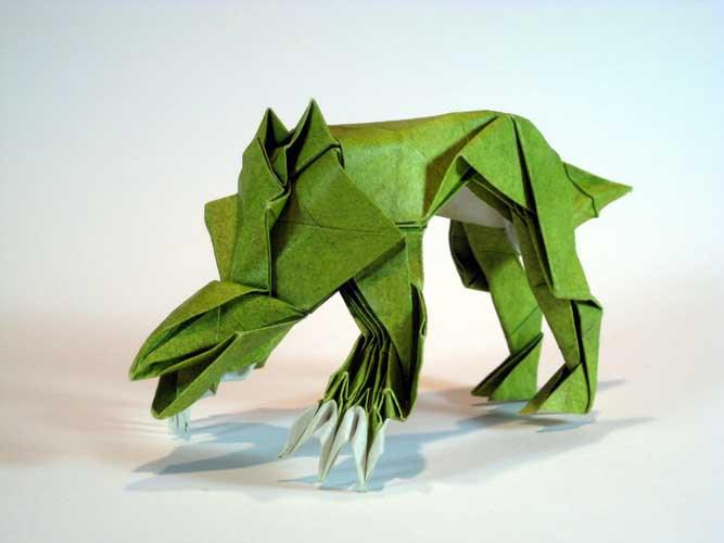 Funky origami animals