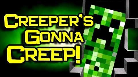 Minecraft Song Lyrics Don't Mine At Night - Omong x