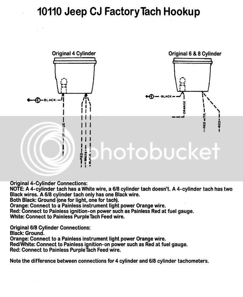 Cj Speedometer Cluster Wiring Diagram