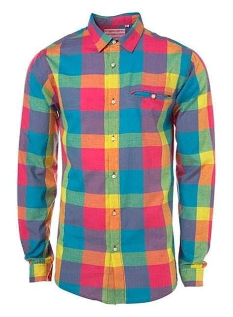 Rainbow Plaid Shirt   Multi/Rainbow Plaid   Pinterest