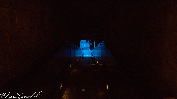 Disneyland Resort, Haunted Mansion, Station, Load, Attic, Lenticular, Window, Escalator, Unload, Speed, Ramp