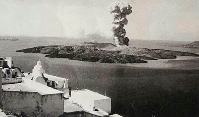 Ο τρομακτικός βρυχηθμός του ηφαιστείου της Σαντορίνης: Η ισχυρότερη έκρηξη που γνώρισε ποτέ η ανθρωπότητα